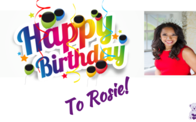 Happy Birthday to Rosie From The Gift of Life Team