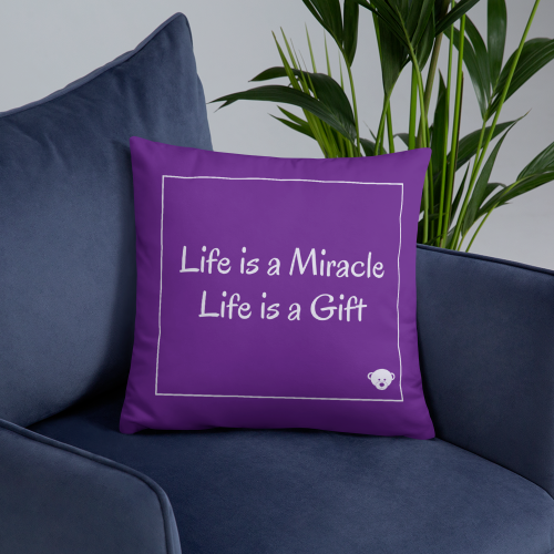 Gift of Life Basic Throw Pillow 2