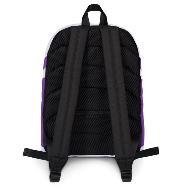 Gift of Life Purple and White Backpack 3
